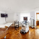 Frauenarzt Dr. Viktor Syrba - Behandlungszimmer