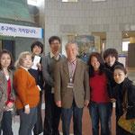 日本ご案内をしてくださった、パクさんと最後に記念写真。想いが伝わり、とても勉強になりました!