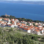 Видова гора. Бол Брач Хорватия. Отель апартаменты Бол, недвижимость Бол. Брач.