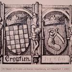 Герб Хорватии и Герб Боснии в Wappenturm в Инсбруке, 1499 г.