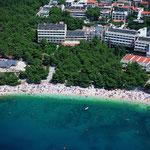 Апартаменты в Макарске. Отдых в Хорватии с детьми. Пляжи в Макарске