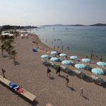 Апартаменты Трибунь Водице с садом и видом на море, отдых в Хорватии с детьми