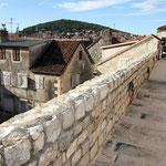 Прогулка по стенам Дворца Диоклетиана в Сплите