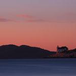 Отдых в Хорватии на маяке. Робинзонский туризм.