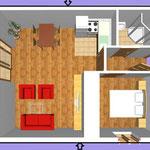 Апартамент А6 (2+2)