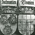 Хорватский герб (Далмация, Хорватия), Альбрехт Дюрер (1427-1528), находится в галерее Альбертина в Вене.