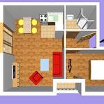 Апартамент А2 (2+2)