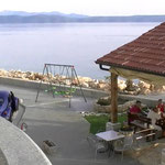 Апартаменты в Драшнице. Макарска ривьера. Отдых в Хорватии. Пляж в Драшнице.