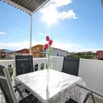 Бюджетные просторные апартаменты в Рогознице рядом с морем, отдых в Хорватии с детьми