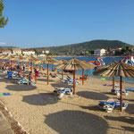 апартаменты Примоштен первый ряд, лучшие пляжи Хорватии, отдых с детьми
