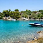 Остров Шолта, отдых в Хорватии рядом со Сплитом, тихий отдых,  лучшие пляжи Хорватии