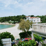 Апартаменты Примоштен первый ряд, отдых в Хорватии с детьми, лучшие пляжи Хорватии