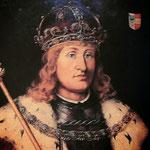 художник Hans Burgkmair, портрет короля Fredericka III