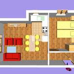 Апартамент А3 (4+2)