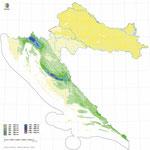 Количество дождей в Хорватии осенью