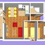 Апартамент А4 (4+2)