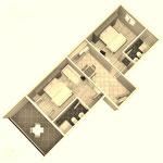 Апартаменты в Промайне с территорией, Хорватия. Отдых с детьми.