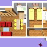 Апартамент А1 (4+2)