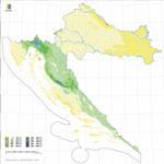 Количество дождей в Хорватии летом