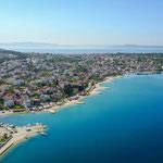 Апартаменты с басейном на Чиово, Трогир, отдых в Хорватии с детьми