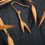 Haferkorn Ohrhänger Gold