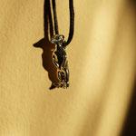 #Erdmännchen Anhänger - Silber