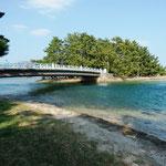 大天橋内海水の交流路