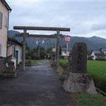 出雲市武志町の「鹿島神社」です。