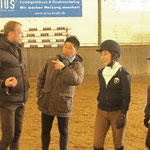 Preparation for the first riding lesson