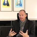 Prof. Dr. Klaus Wübbenhorst berichtet begeistert von der Aktion