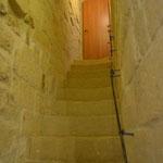 scale per raggiungere la stanza con letti singoli
