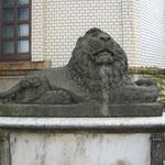 悪田稲荷神社・親子像、彫刻師小川由太郎 (S15)