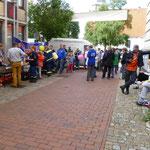 Helferfest mit Bratwurst nach der Veranstaltung