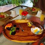 Excellent petit déjeuner Cabanas los Colibris