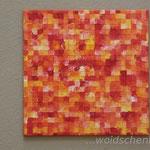 """""""Quatrotologo orange"""" (50x50cm) zu verkaufen"""