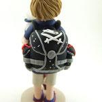 Tortenfigur Schulanfänger Junge stehend