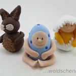 Tortenfiguren Ostergruppe