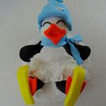 Tortenfigur Pinguin
