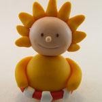 Tortenfigur Wichtel Sonne mit Schwimmreif