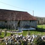 Chambre La Gariotte avec son petit jardin privatif