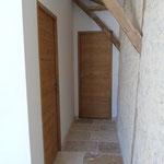 Couloir pour la chambre attenante