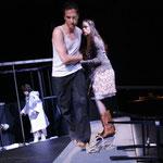 Barabbas (Boris Grappe), Eine Frau (Sharon Carty), Einer der Zwölf (Luka Paredes-Montes)