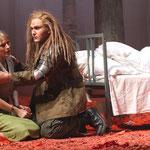 Orlando (Benno Schachtner), Dorinda (Beate von Hahn)