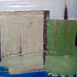 acryl auf leinen - 100 x 100