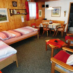 Betten im Wohnzimmer