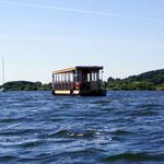 Fahrt auf dem Kummerower See