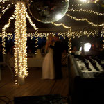 Romantic mood and environment set by Magnolia Gardens Inn and All Around Sound