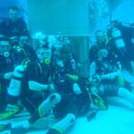 alle unter Wasser