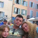 Andrea, Olli und Vivi
