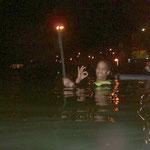 Kai schon im Wasser